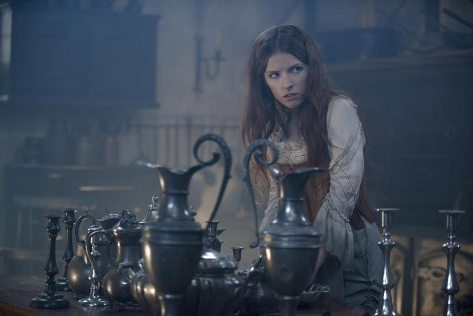 "Anna Kendrick as Cinderella in ""Into the Woods"" (2014)."